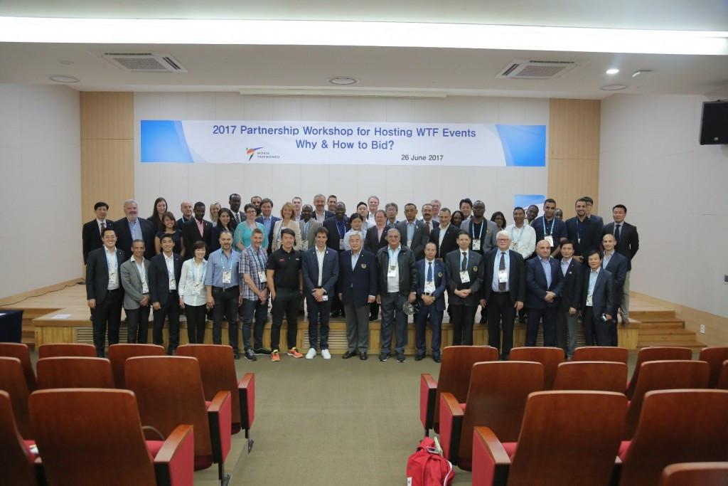 World Taekwondo hosts events workshop