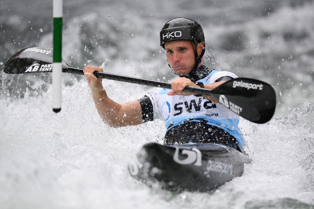Prindis eyes hat-trick at ICF Canoe Slalom World Cup in Markleeberg