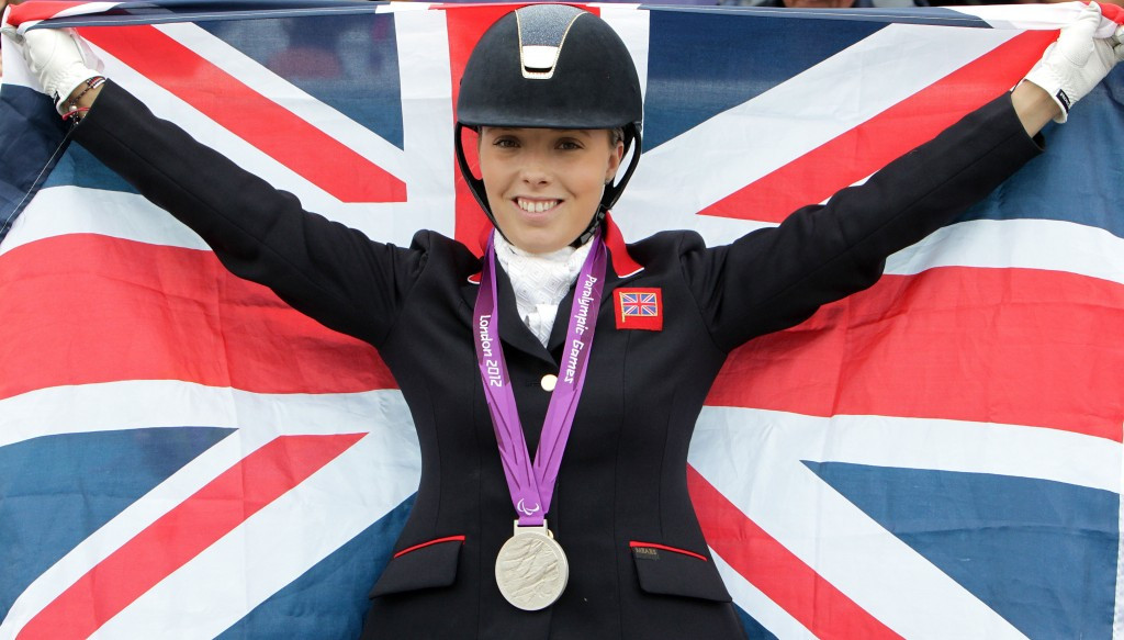 Paralympic equestrian champion Sophie Wells is one of the athletes who will be in attendance at the event in Nottingham