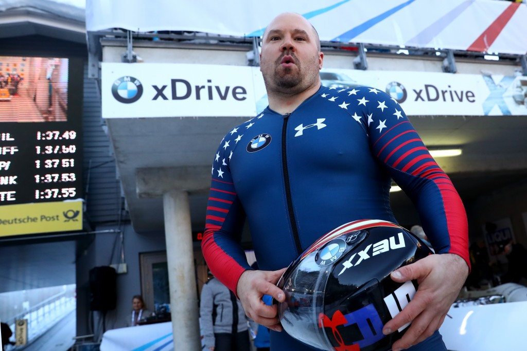 Steven Holcomb died at the age of 37 in May ©Getty Images