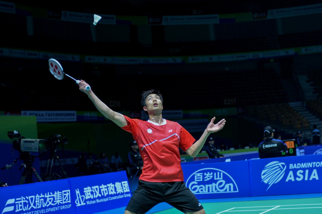 Defending men's champion advances to Chinese Taipei Open quarter-finals