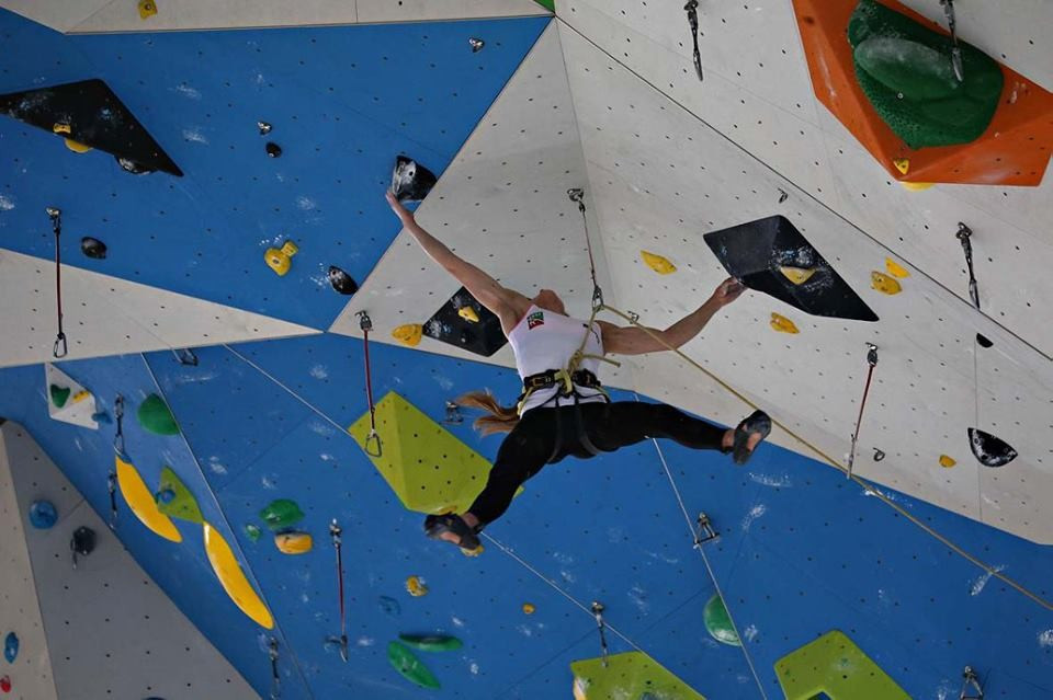Campitello prepares for IFSC European Championships