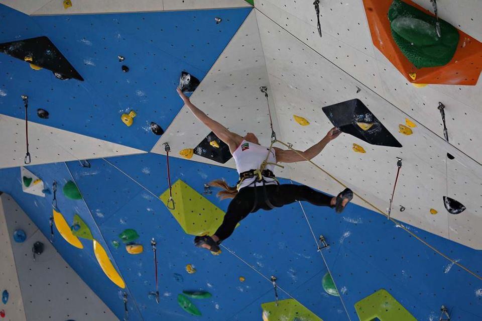 Campitello prepares for IFSC European Championships