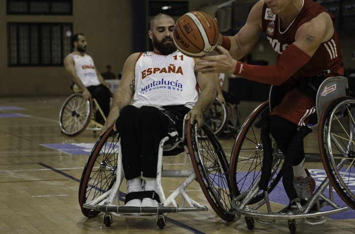 Spain earned fifth place in the IWBF European Championships in Tenerife with a win over Poland ©EuroWB2017