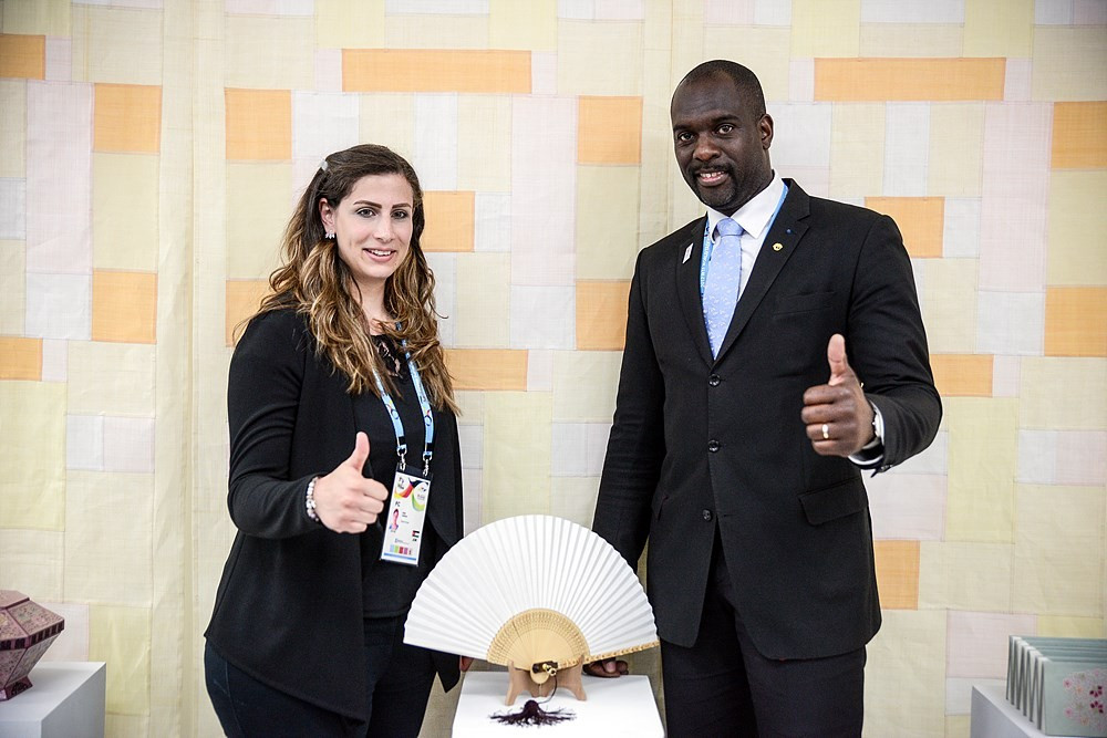 The newly-reconstituted World Taekwondo Athletes' Committee has elected Jordan's Nadin Dewani and France's Pascal Gentil as its chairpersons ©World Taekwondo