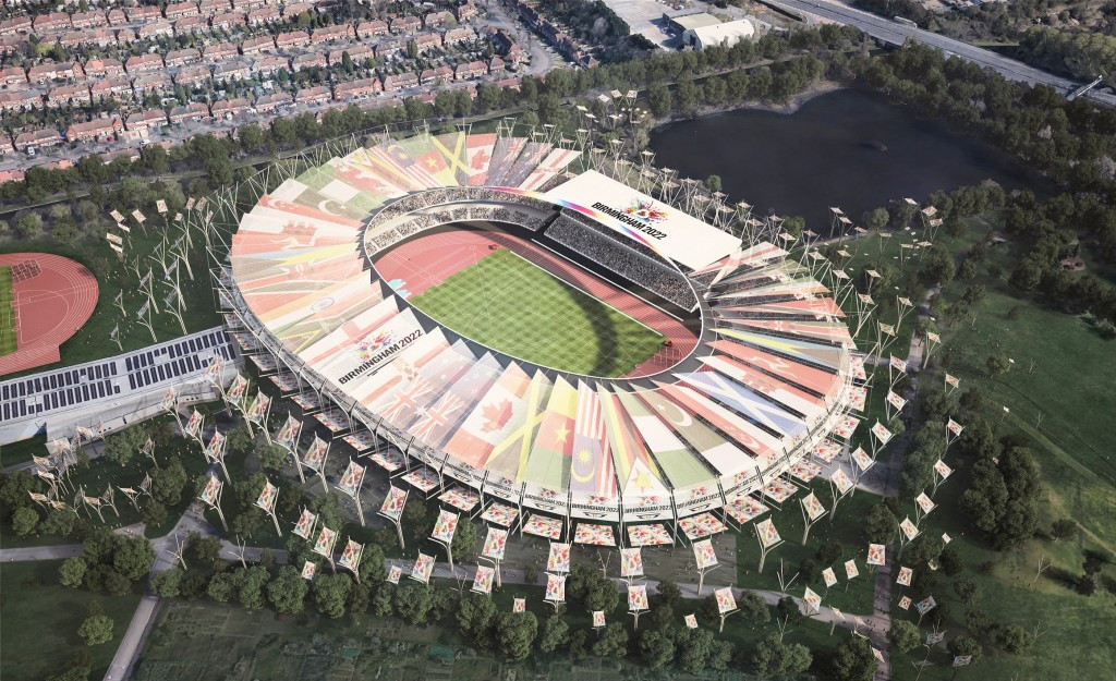 Images released of what stadium would look like if Birmingham awarded 2022 Commonwealth Games