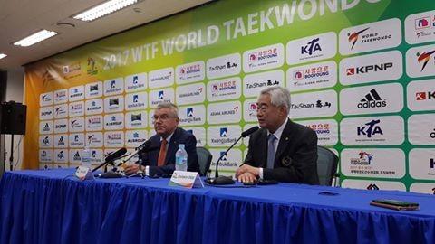 Performance of joint World Taekwondo-ITF demo team at Pyeongchang 2018 verbally agreed