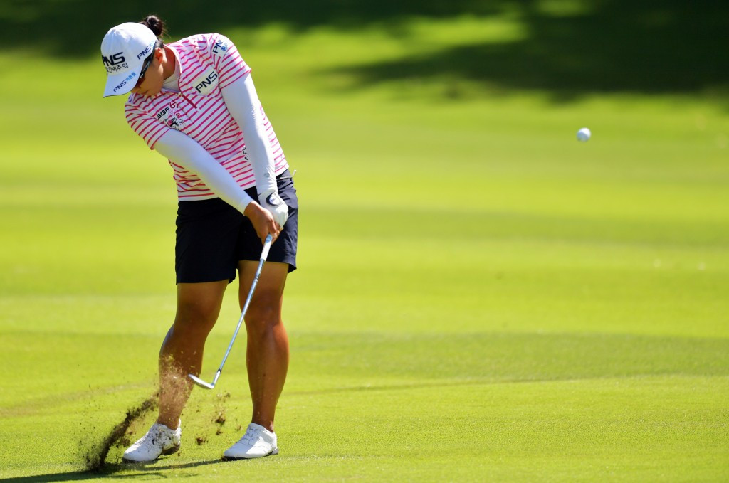 Ko still feels Women's PGA Championship pressure despite ranking drop