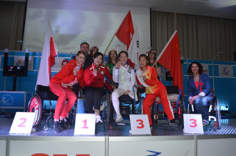 Multiple Paralympic champion Yu claims victory in Warsaw