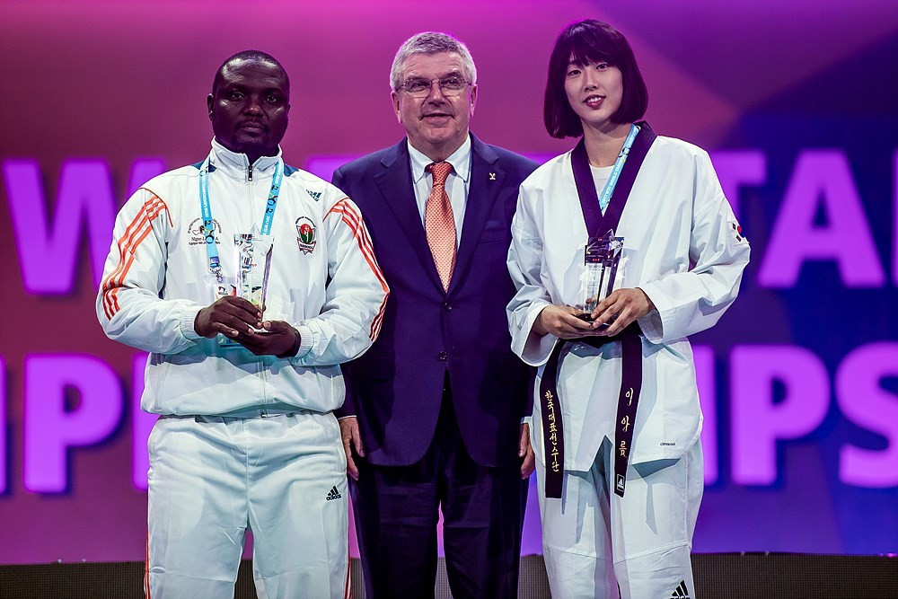 IOC President Thomas Bach hailed the success of the 2017 World Taekwondo Championships as the curtain came down on the event with the Closing Ceremony ©World Taekwondo