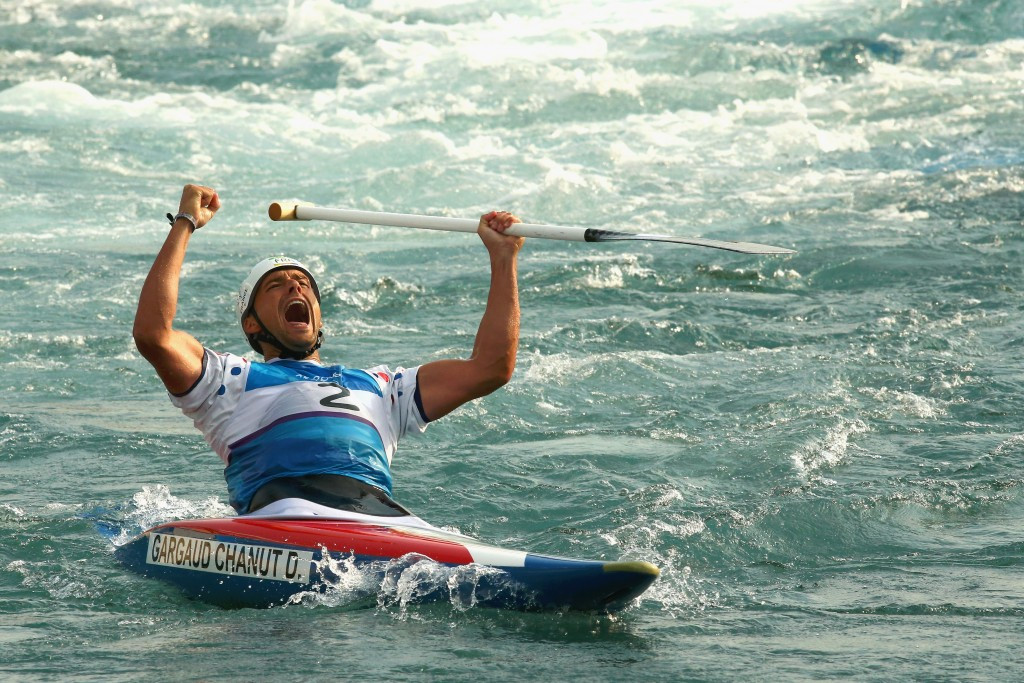 Olympic champion shows class at ICF Canoe Slalom World Cup in Markleeberg