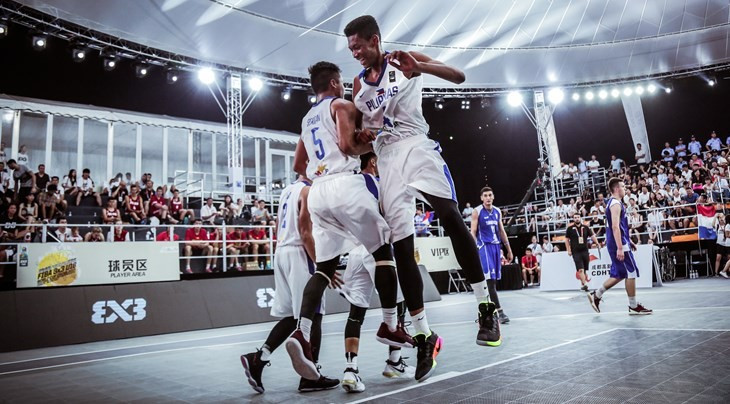 The Philippines are through to the quarter-finals of the FIBA 3x3 Under-18 World Cup