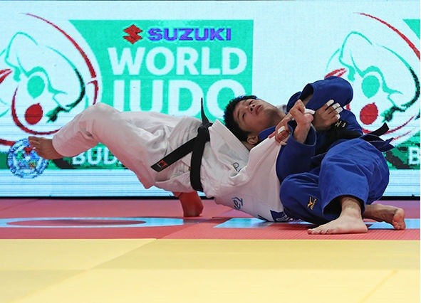 Japanese judokas star on opening day of Hohhot Grand Prix