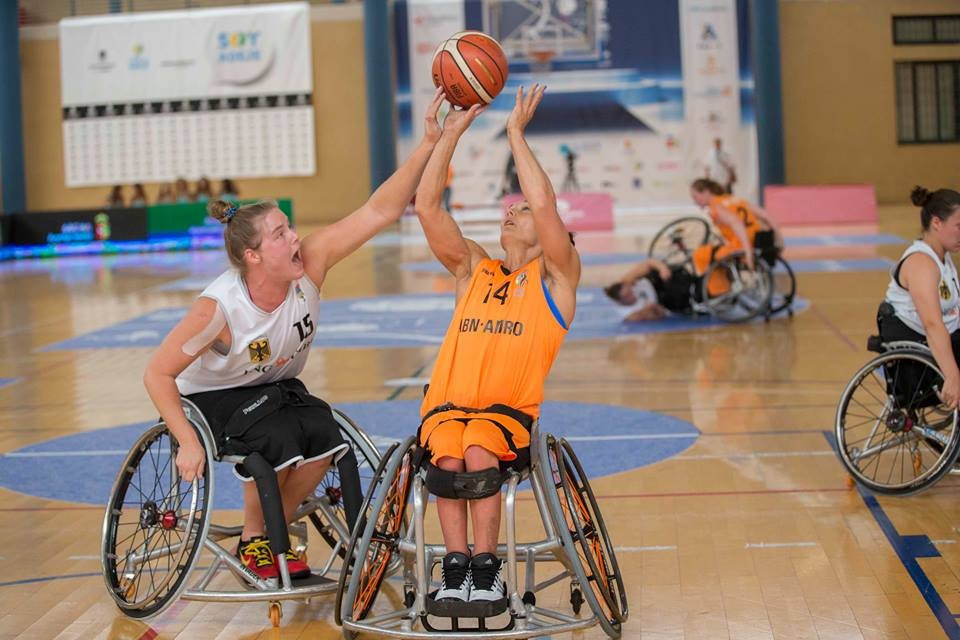 The Netherlands claimed the women's title after defeating Germany 61-56 ©IWBF