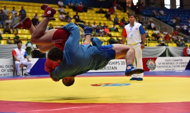 Hosts Uzbekistan enjoy success at Asian Sambo Championships