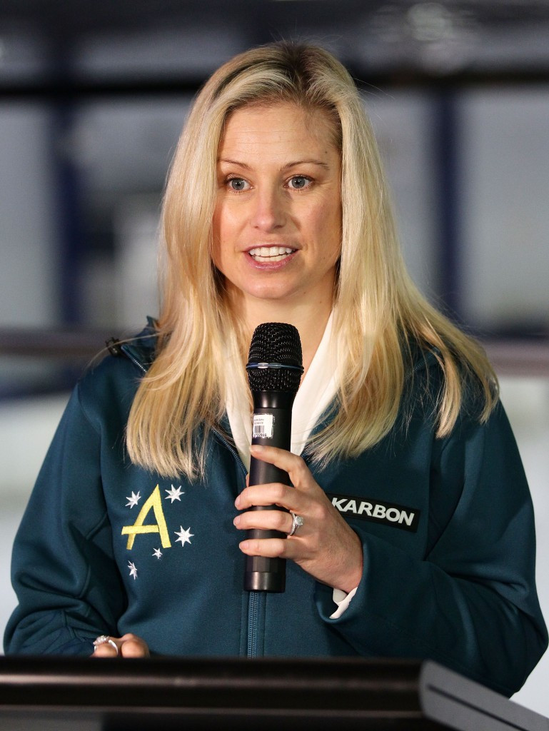 Alisa Camplin-Warner has been appointed onto the Australian Sports Commission Board ©Getty Images
