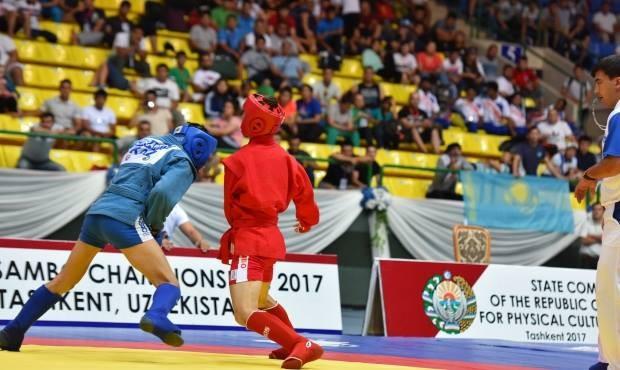 Uzbekistan won one combat sambo gold medal today ©FIAS