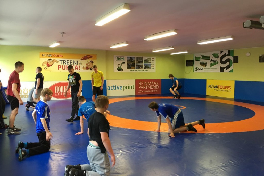 Estonian Wrestling Federation participating in development project