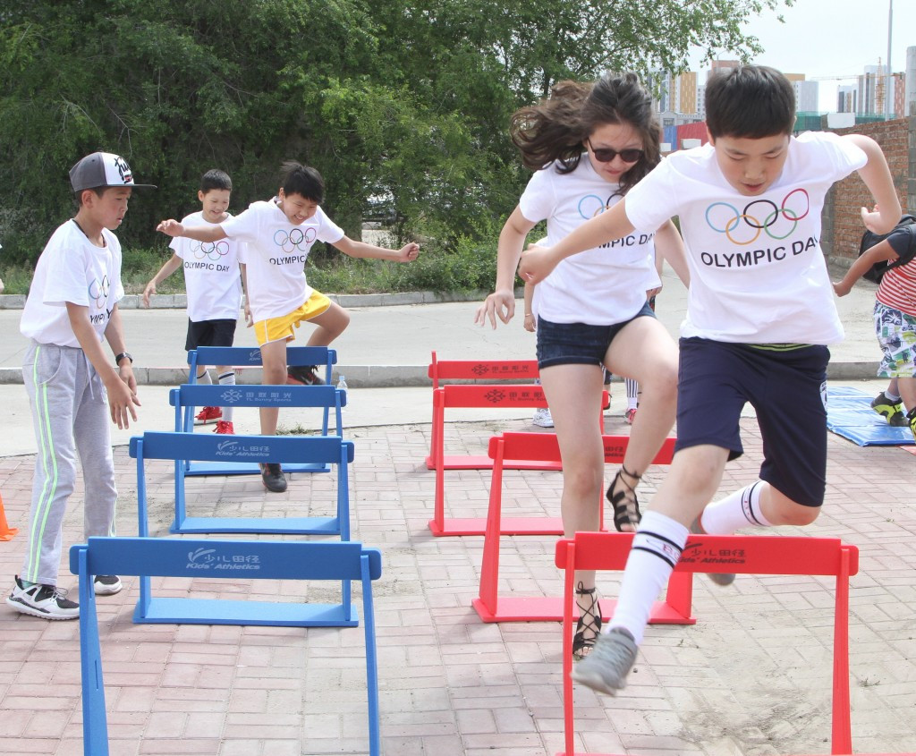 Mongolian National Olympic Committee celebrates Olympic Day