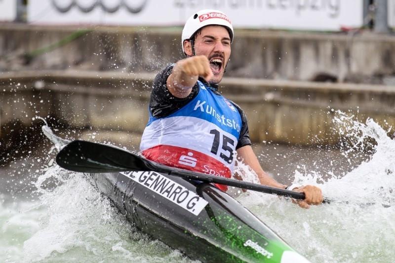 Italy's De Gennaro victorious at ICF Canoe Slalom World Cup