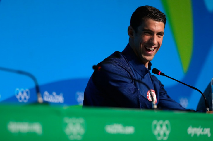Michael Phelps, record Olympian, enjoying life at the Rio Olympics, indiscretions and comebacks all behind him ©Getty Images