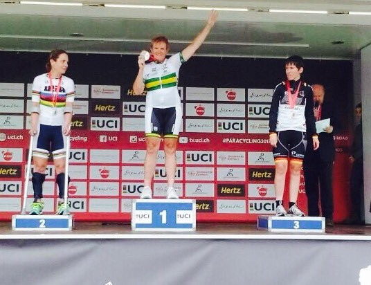 Cooke claims road race victory at UCI Para-cycling Road World Cup