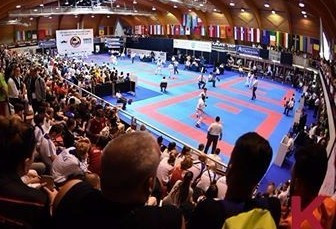 Lesjak delivers home success at WKF Karate1 Youth Cup