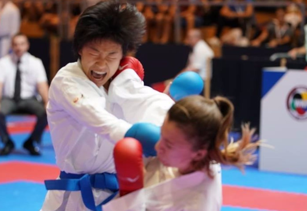 Karatekas began earning places in the latter stages of competitions in Umag ©WKF