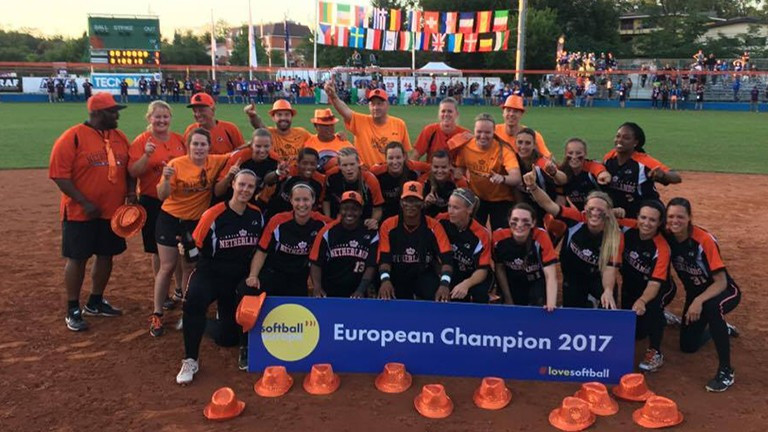 Dutch win back Women's Softball European Championship crown