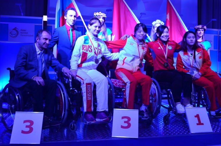 Yu wins second gold at IWAS World Cup in Warsaw