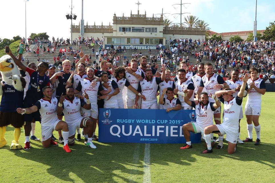 United States thrash Canada to qualify for 2019 Rugby World Cup