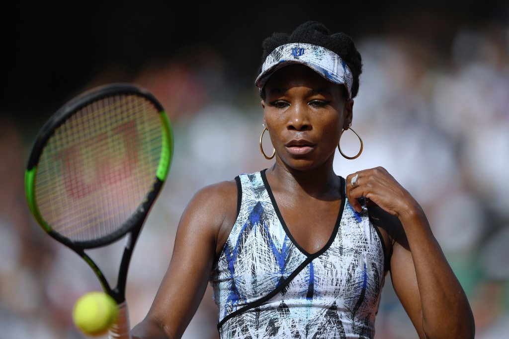 """Venus Williams has said she was left """"devastated and heartbroken"""" following the incident ©Getty Images"""