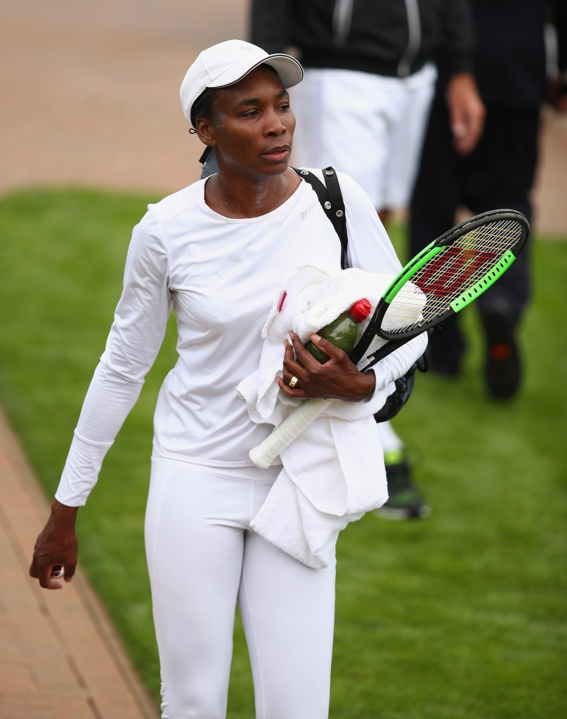 Venus Williams is set to appear in her 20th Wimbledon Championships, which begin tomorrow ©Getty Images