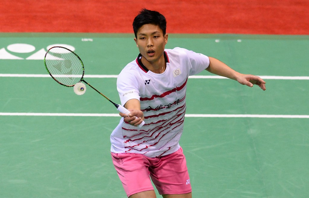 Chou defeats compatriot to retain BWF Chinese Taipei Open title