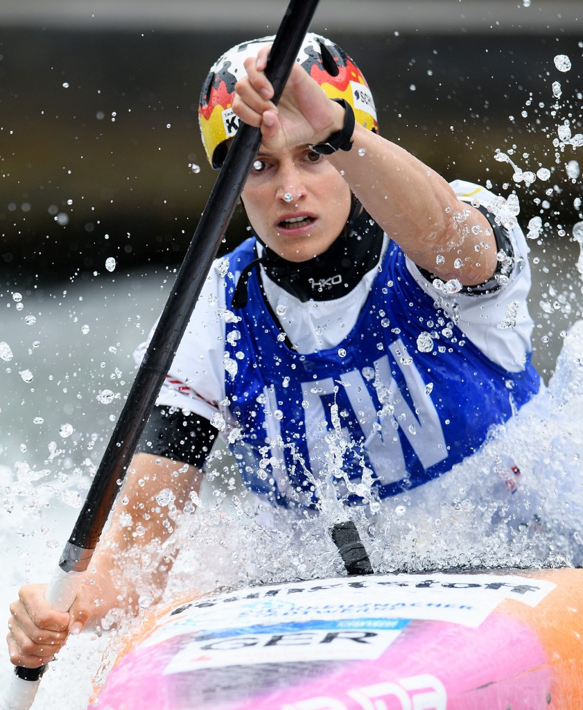 Funk shows great speed to win ICF Canoe Slalom World Cup gold