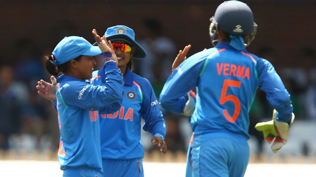 India maintain 100 per cent record in ICC Women's World Cup