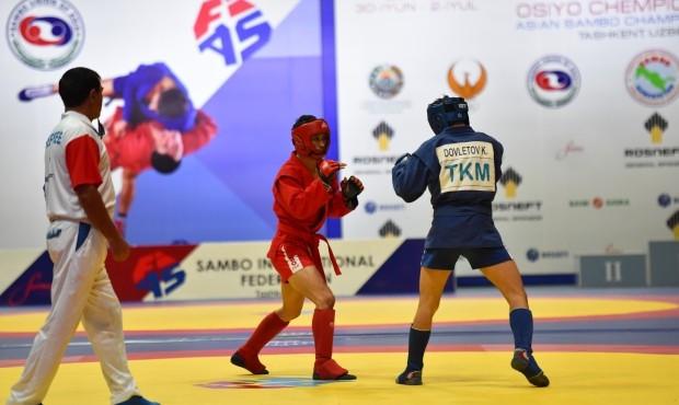 More golds won by hosts Uzbekistan at Asian Sambo Championships
