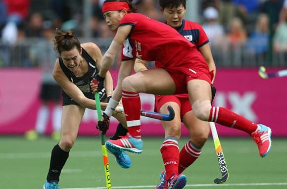 New Zealand earned bronze with a hard-earned 1-0 win over South Korea in Brussels ©FIH