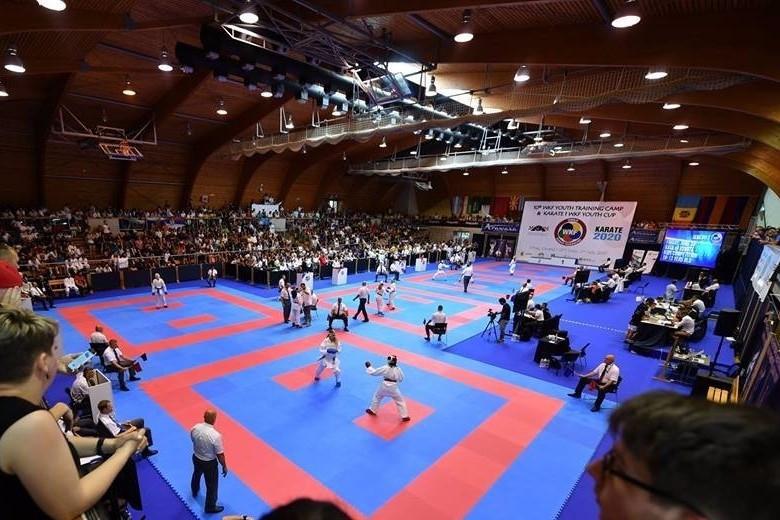 Russia's Shcherbina claims kata gold at WKF Karate1 Youth Cup
