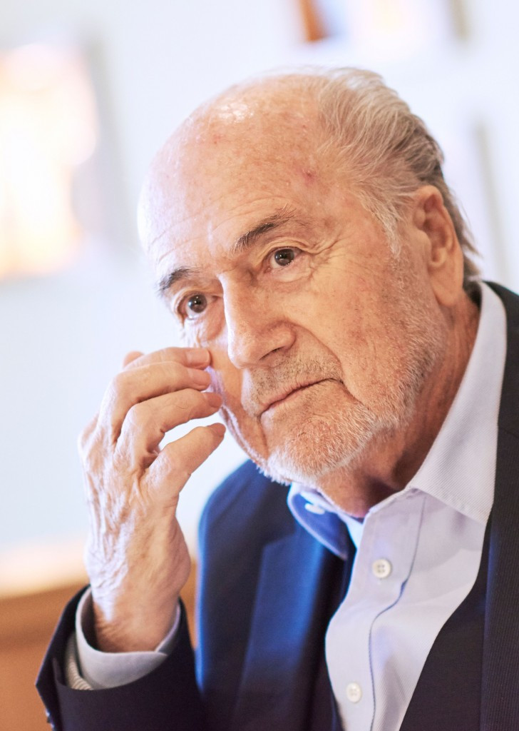 Blatter says Putin has invited him to 2018 FIFA World Cup
