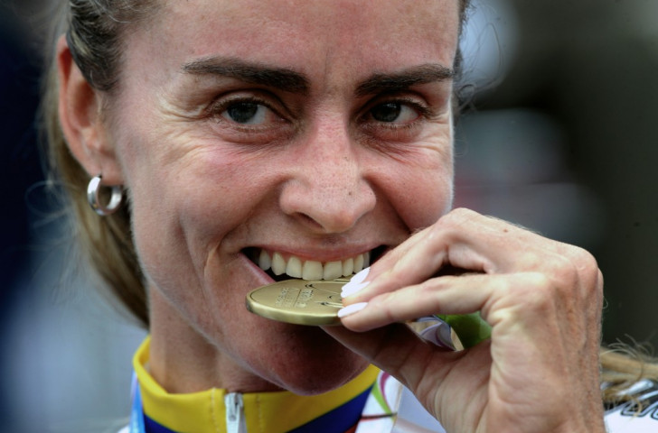 Maria Luisa Calle has become the 13th athlete to be implicated in a doping scandal at Toronto 2015 ©AFP/Getty Images