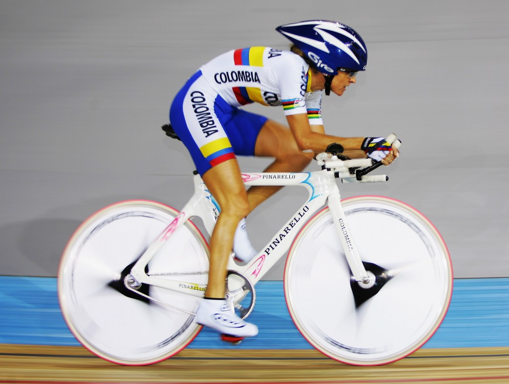 Maria Luisa Calle has won frequent international medals for Colombia over the last decade ©AFP/Getty Images