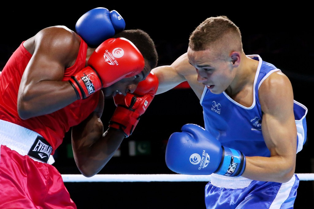 Sting also supplied boxing equipment at the 2014 Commonwealth Games in Glasgow ©Getty Images
