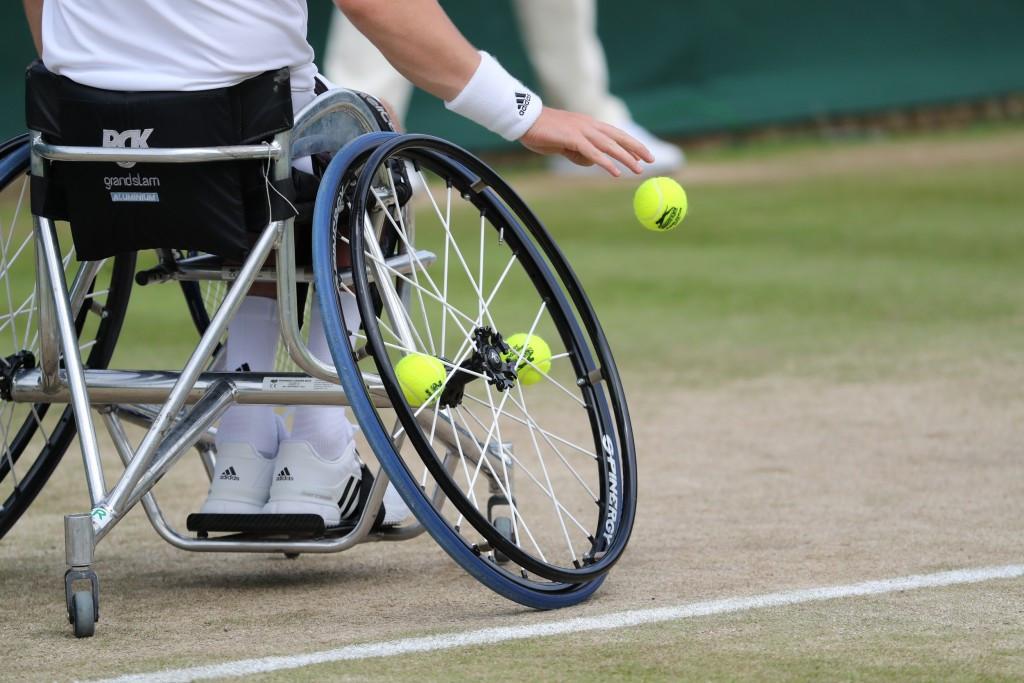 Seeds sown for new wheelchair tennis grass court season