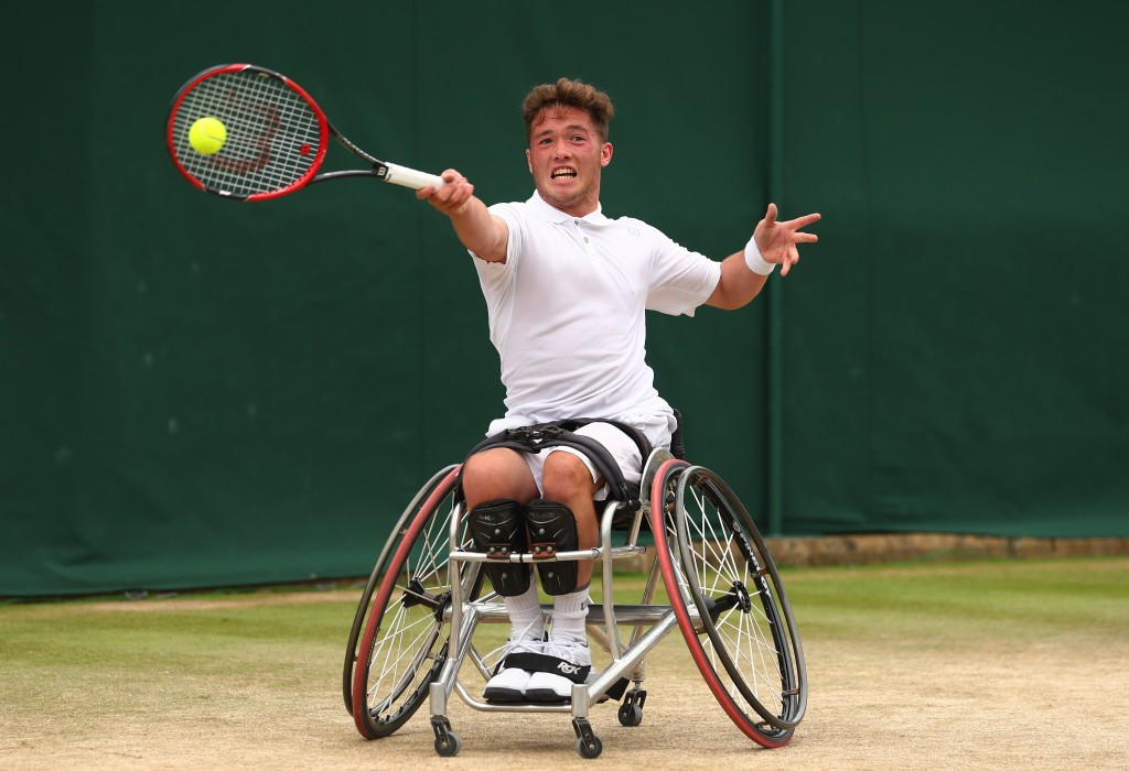 British world number six Alfie Hewett is among those expected to compete in Surbiton ©Getty Images