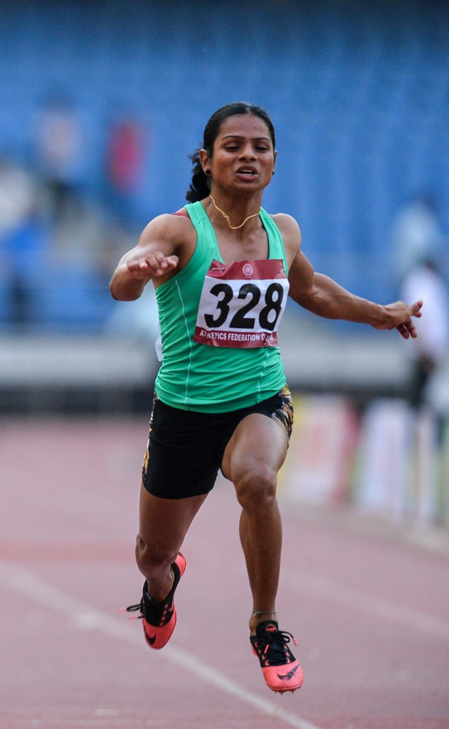 Indian sprinter Dutee Chand's successful appeal to CAS over her ineligibility to compete as a female under IAAF rules meant the international governing body was obliged to back its ruling up with further scientific evidence ©Getty Images