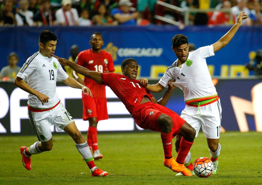 Mexico fought back to beat Panama in the second semi-final ©Getty Images