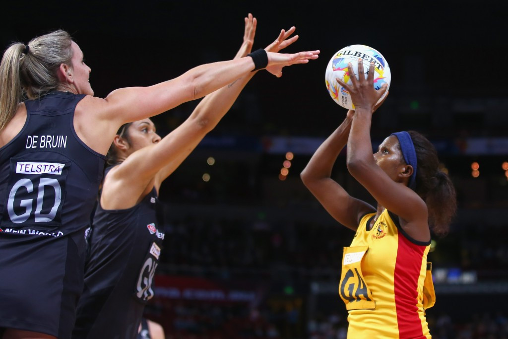 Uganda's netball team have qualified for the Gold Coast 2018 Commonwealth Games having risen into the top 12 of the world rankings ©Getty Images