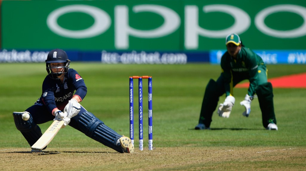 Tammy Beaumont scored 148 runs to help England beat South Africa ©Getty Images