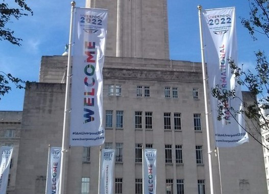 Liverpool welcomed a delegation from the UK Government to inspect its bid for the 2022 Commonwealth Games ©Twitter